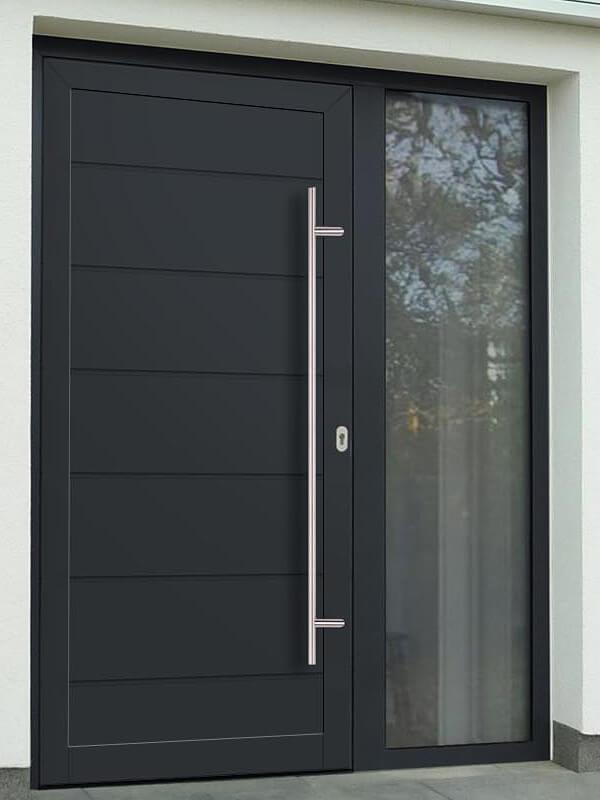 AVF-782 hliníkové vchodové dvere s vloženou dvernou výplňou