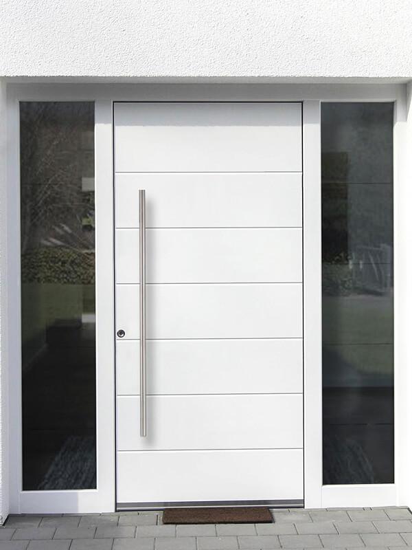 AVF-782 hliníkové vchodové dvere s prekrytým krídlom