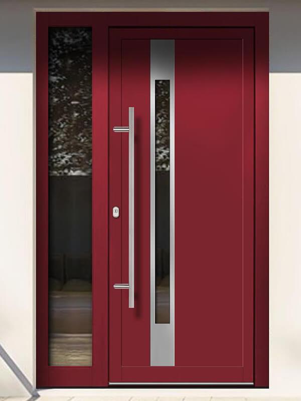 AV-784 hliníkové vchodové dvere s vloženou dvernou výplňou