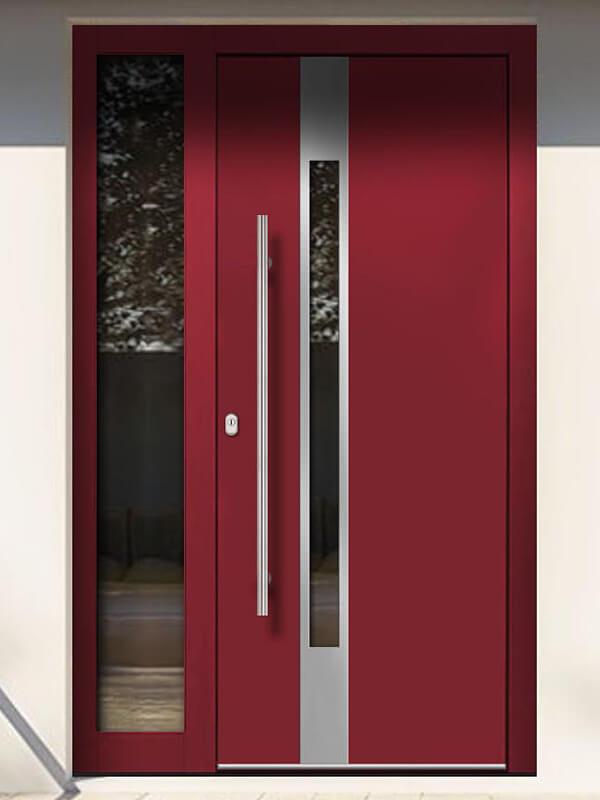 AV-784 hliníkové vchodové dvere s prekrytým krídlom