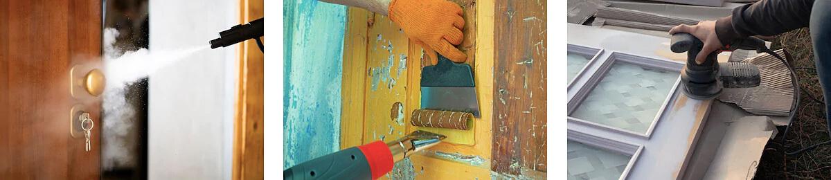 Údržba a starostlivosť o drevené dvere - lakovanie, brúsenie a naparovanie