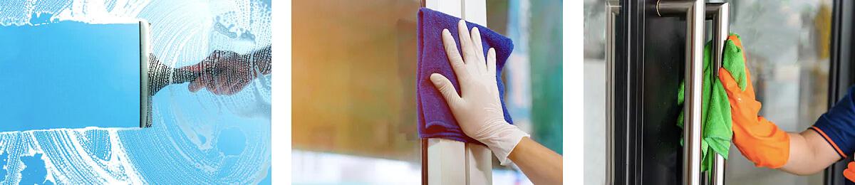 Údržba a starostlivosť o hliníkové dvere - čistenie a dezinfekcia
