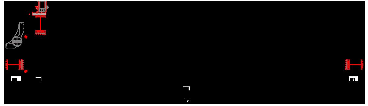 Šírka hliníkových dverí MB-86SI a ich rozmery. Svetlá šírka dverí.