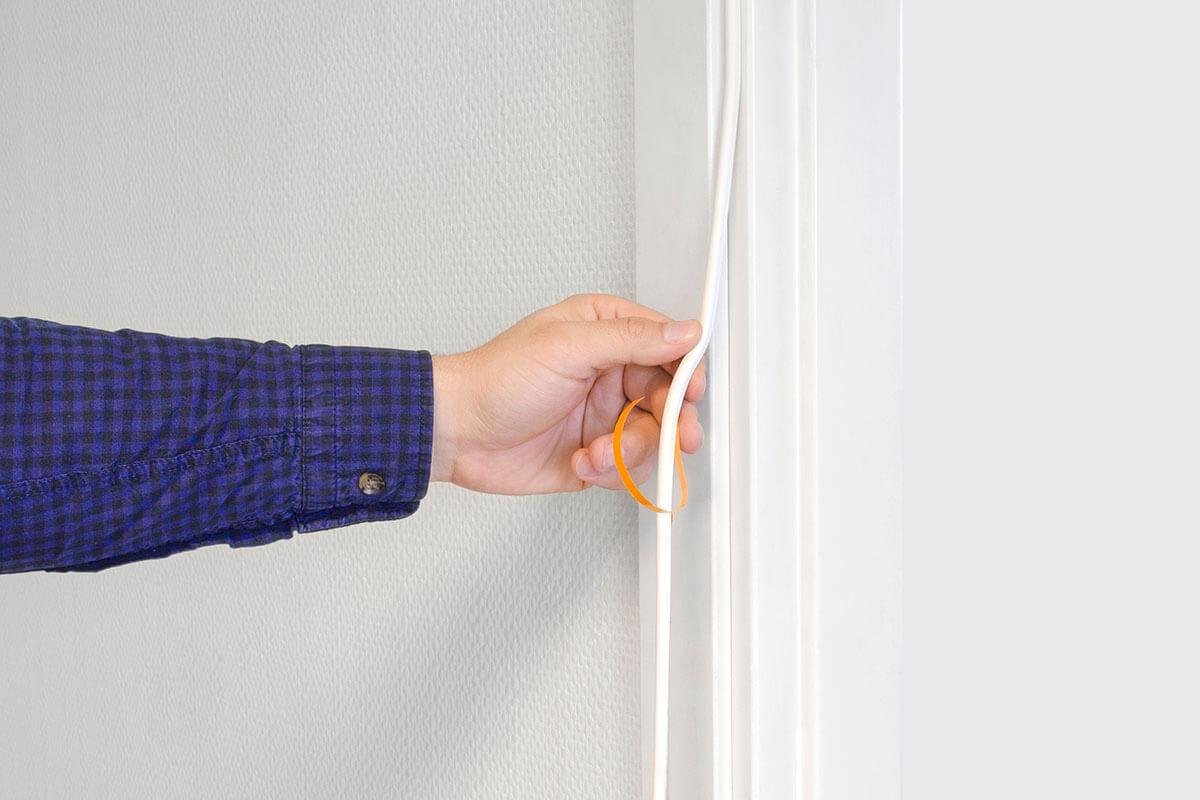 Ako utesniť vchodové dvere voči hluku